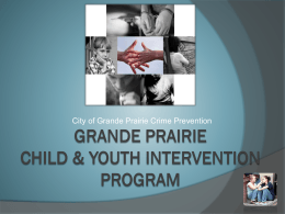 Grande Prairie Youth Intervention