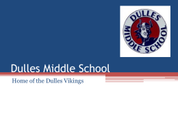 Dulles Middle School
