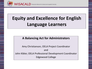 File - Equity and Excellence for ELLs