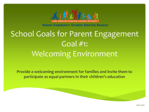 What is Parent Engagement?