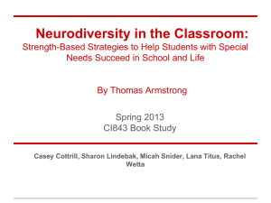 Neurodiversity in the Classroom: Strength