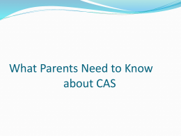 CAS for parents-1