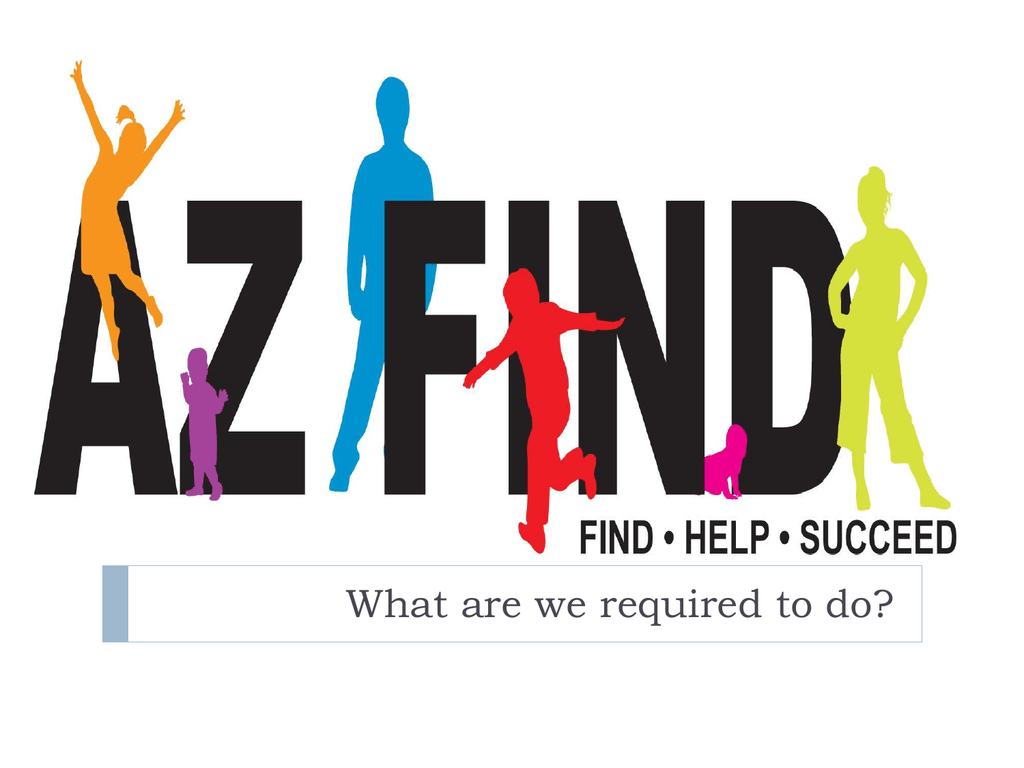 AZ FIND - Dysart Unified School District