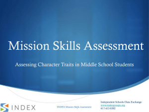 Mission Skills Assessment
