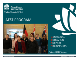 AEST - Western Student Connections