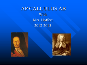 AP CALCULUS AB - East Penn School District