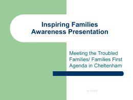 Inspiring Families Project