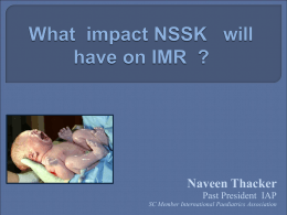 nssk introductory - IAP NNF NRP