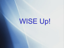 WISE Up! - Pickerington Local School District