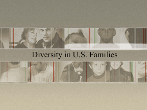 Diversity in U.S. Families - Grayslake North High School