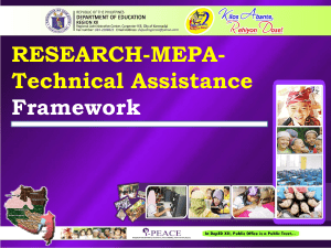 Session 6 Research-MEPA-TA Framework