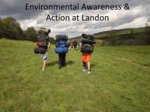 Environmental Awareness & Action at Landon