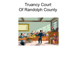 RC Truancy Court PowerPoint