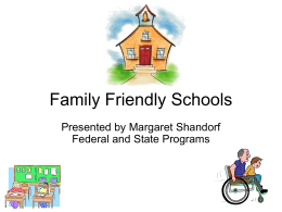 Family Friendly Schools - the School District of Palm Beach County