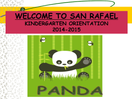 KINDERGARTEN ORIENTATION PowerPoint Presentation