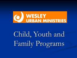 CATCH Program - Wesley Urban Ministries