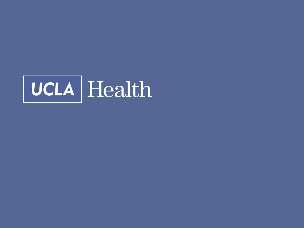HR Department Presentation - UCLA Health