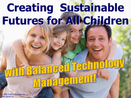 Balanced Technology Management