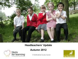 heads_update_aut12 - Hertfordshire Grid for Learning