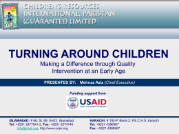 Turning Around Children - Children`s Resources International