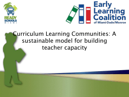 Curriculum-Learning-Communities-Overview