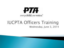 ppt - Irvine Unified Council PTA