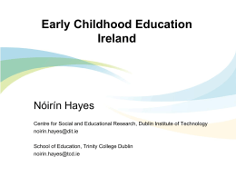 Early Childhood Education Ireland - World Organization for Early