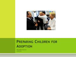 Preparing Children for Adoption Dufore