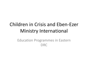 Children in Crisis and Eben-Ezer Ministry International