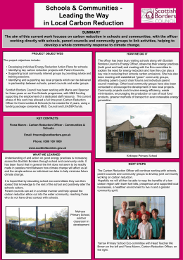 Scottish Borders Council - Eco Schools