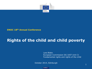 Rights of the child and child poverty