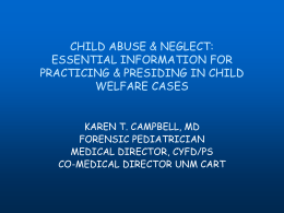 detection of child abuse
