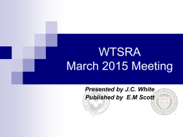 March Meeting Presentation (New)