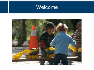 Early Childhood and Child Care Reform