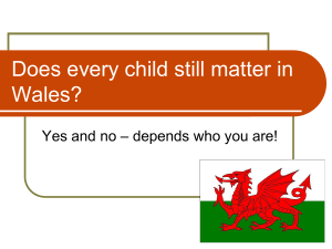 Does every child still matter in Wales?