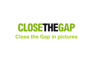 Close the Gap in pictures Almost 480000