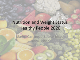 Healthy People 2020 PowerPoint Presentation