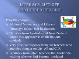Literacy lift-OFF - St. Patrick`s National School