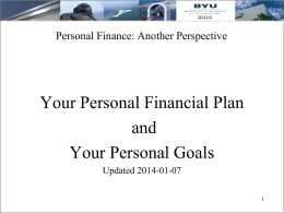 here - Personal Finance