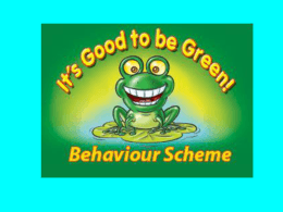 Behaviour Scheme - Invicta Primary School