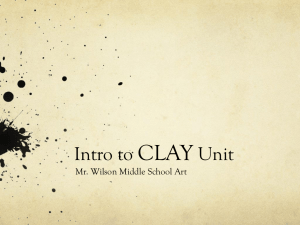 Clay Powerpoint