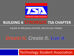 Recruitment Toolkit Guide - Technology Student Association