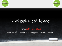 School Resilience - Central Bedfordshire Council