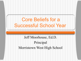 Six Core Beliefs for Every School Leader