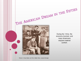 19_2 The American Dream in the Fifties