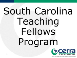 Navigating the Teaching Fellows Program