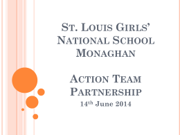 St Louis Girls NS - Action Team Partnership