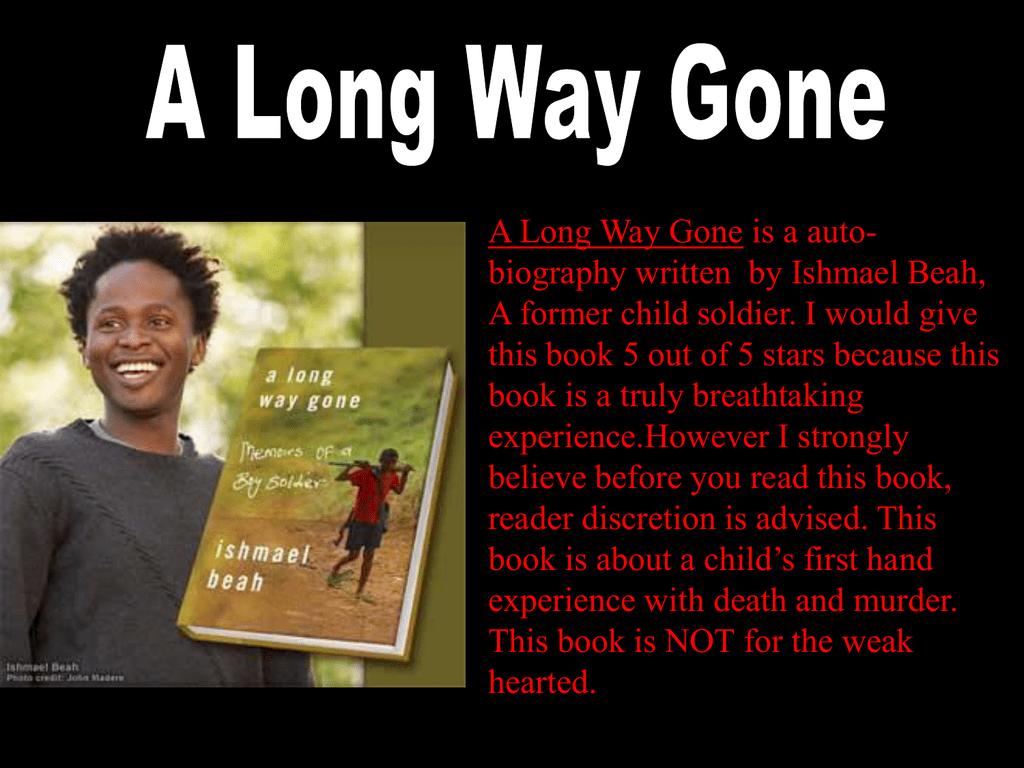 a long way gone beah ishmael