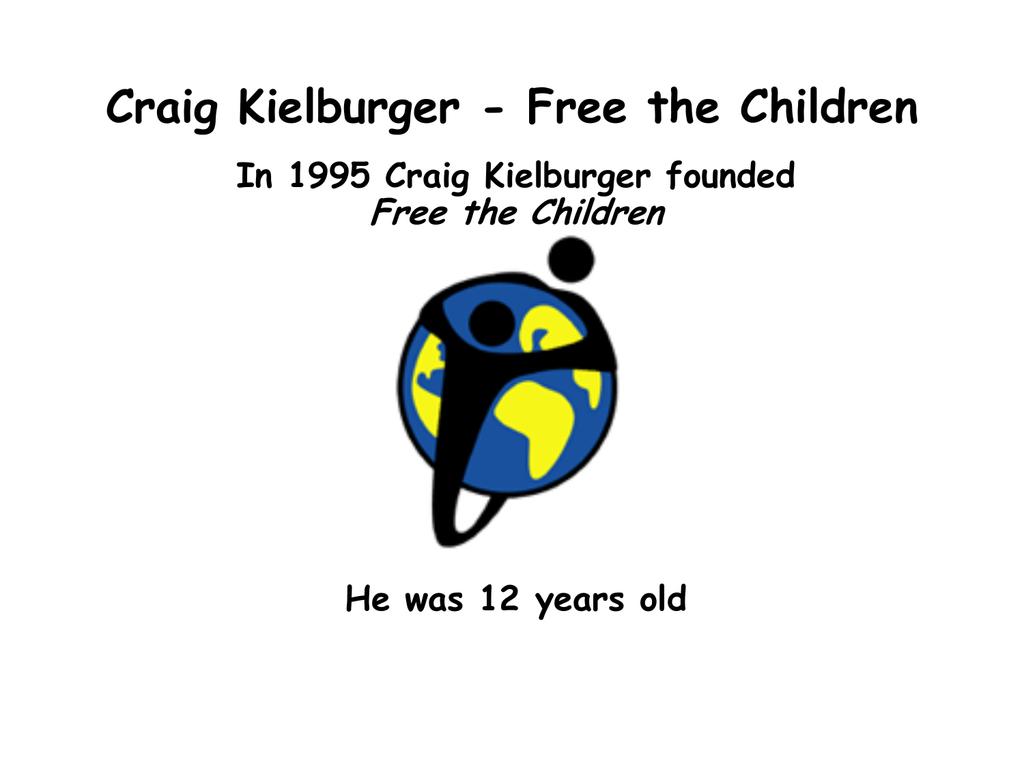 craig kielburger a momentous canadian essay