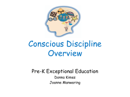Conscious DisciplineOverview 3
